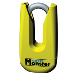 Monster Disc Lock Yellow OF36M