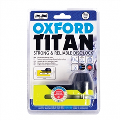 Titan yellow Disc-Lock & Pouch OF51