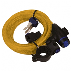 Cable Lock 12mm x 1800mm Gold OF248
