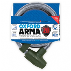 Arma20 Armoured Cable Lock 22mm x 900mm Clear LK283