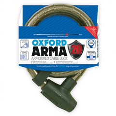Arma20 Armoured Cable Lock 22mm x 900mm Smoke LK284