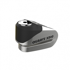 Quartz XD10 disc lock(10mm pin) Brushed stainless effect LK268